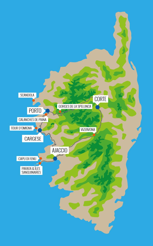 Sentiers culturels de Corse - Sud-ouest